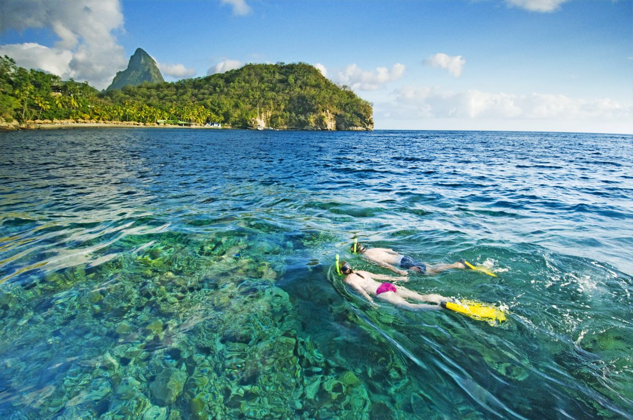 st lucia St lucia hosts some of the most breathtaking and diverse scenery in all of the  caribbean.