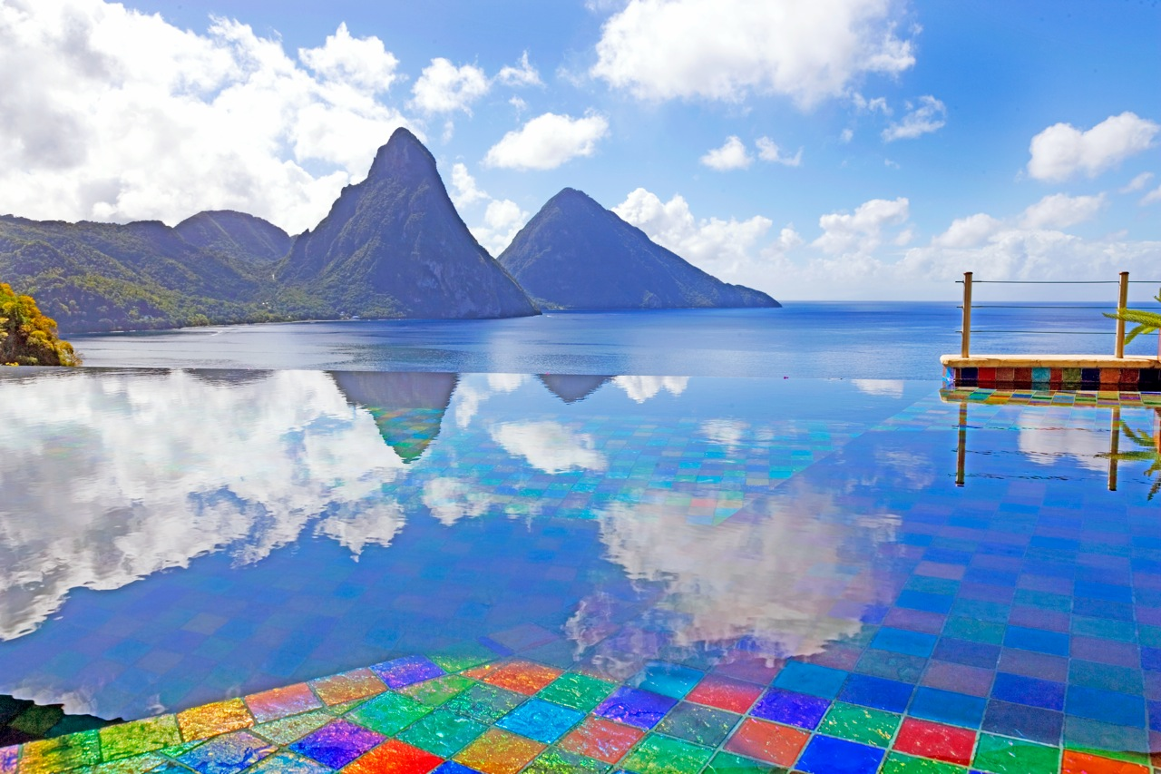 TWO ST LUCIA RESORTS OFFER A YIN AND YANG EXPERIENCE ...