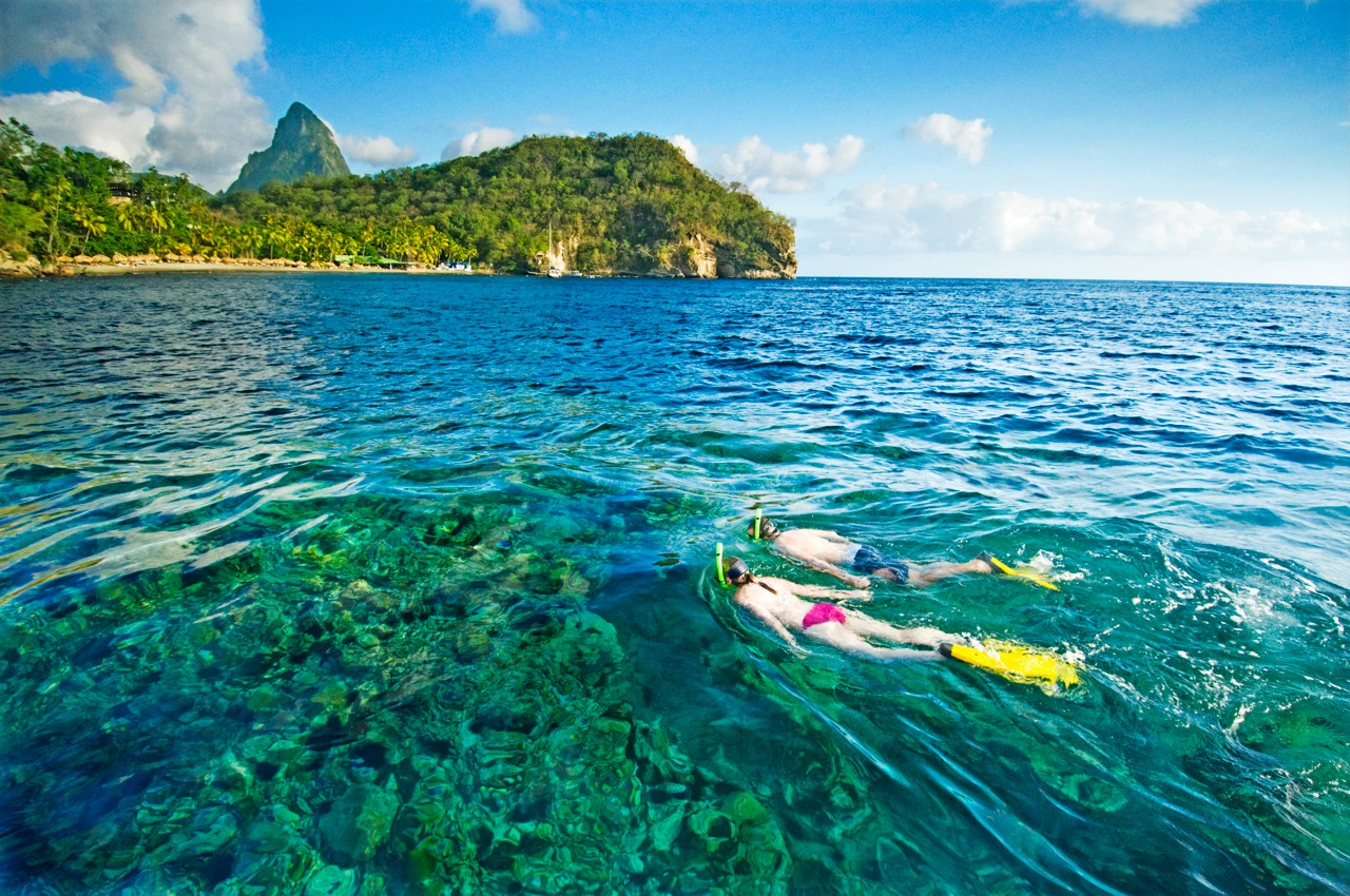 Location St Lucia In Caribbean: The Caribbean's Most Scenic Island