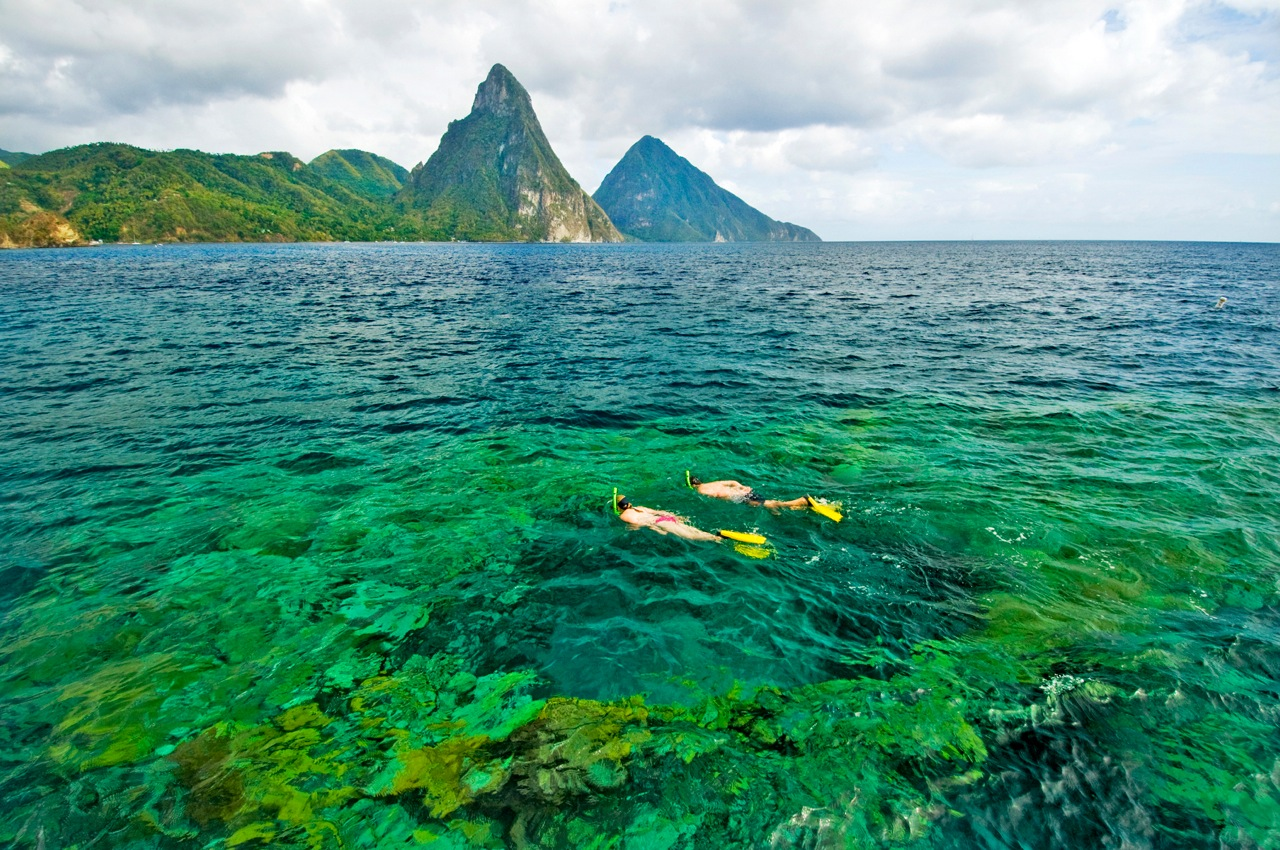 Think of Saint Lucia when planning your next Caribbean scuba diving ...